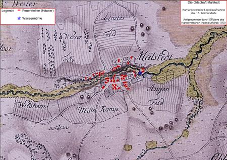 Karte von 1769